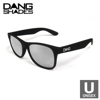 DANG SHADES(ダン・シェイディーズ) LOCO Black Soft x Chrome Mirror w/ white Logo スポーツサングラス
