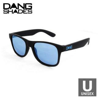 DANG SHADES(ダン・シェイディーズ) LOCO Black Soft x Blue メンズ・レディース スポーツサングラス