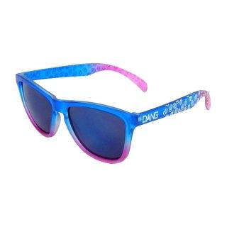 DANG SHADES ORIGINAL Blue/Pink clear Gradation × Blue Mirror[Asuka Saga Model] スポーツサングラス