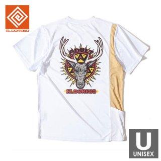 ELDORESO(エルドレッソ) Trophy Tee(White) メンズ・レディース ドライ半袖Tシャツ