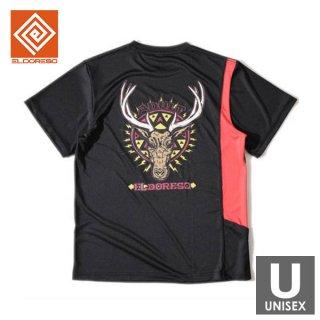 ELDORESO(エルドレッソ) Trophy Tee(Black) メンズ・レディース ドライ半袖Tシャツ
