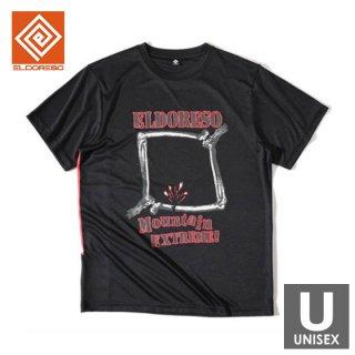 ELDORESO(エルドレッソ) Bone Frame Tee(Black) メンズ・レディース ドライ半袖Tシャツ