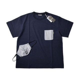 MMA マウンテンマーシャルアーツ MMA Anti-virus Pocket Tee with Mask 半袖Tシャツ&マスク