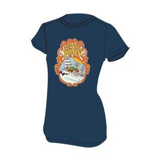 Teton Bros ティートンブロス WS TB DEEEEP POWDER TEE (WOMEN) レディース 半袖Tシャツ