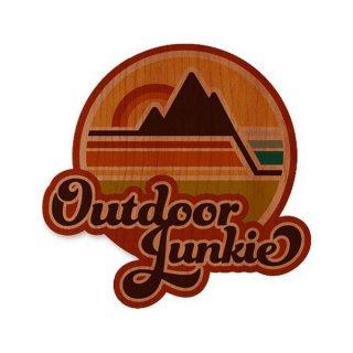 TRYL WOOD STICKER(ウッドステッカー) Explorer 木材を使用した自然素材のステッカー