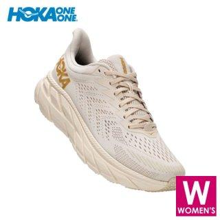 HOKA one one(ホカ オネオネ) CLIFTON 7 WIDE GOLD PACK レディース ロード ランニングシューズ