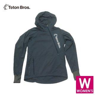Teton Bros ティートンブロス WS BREATH RUNNER (WOMEN) レディース ハーフジップ フーディージャケット