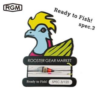 RGM(ROOSTER GEAR MARKET) RGM spec.3 仕掛け  釣り針 3本入り 川釣り  テンカラ 初心者 釣り具 フィッシング キャンプ アウトドア