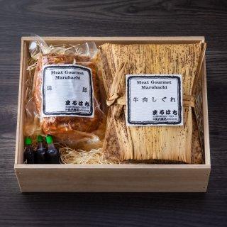 【509】特選焼豚・牛肉しぐれ