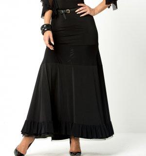 ファビアナ・ロングスカート ブラック