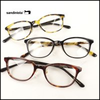 SANDINISTA(サンディニスタ)<br>Clever Glasses -Made by Kaneko Optical(眼鏡)