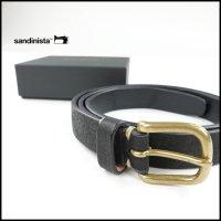 SANDINISTA(サンディニスタ)<br>Daily Leather Belt(デイリーレザーベルト)