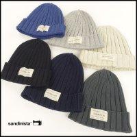 SANDINISTA(サンディニスタ)<br>Daily Cotton Rib Knit Cap(コットンリブニットキャップ)