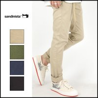 SANDINISTA(サンディニスタ)<br>B.C.Chino Stretch Pants Skinny(スキニーストレッチチノ)