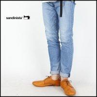 SANDINISTA(サンディニスタ)<br>B.C.Stretch Damaged Denim Pants-Skinny(ストレッチダメージスキニーデニムパンツ)