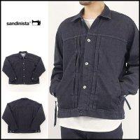 SANDINISTA(サンディニスタ)<br>Cordula Denim Stretch Jacket(コーデュラデニムストレッチジャケット)