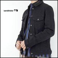 SANDINISTA(サンディニスタ)<br>B.C.Stretch Denim Jacket(デニムジャケット)