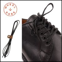WHEELROBE(ウィールローブ)<br>FLAT SHOE LACE 5-EYE(靴ひも(平紐)短靴用)