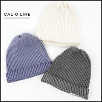 CAL O LINE(キャルオーライン)<br>SILK KNIT CAP2(シルクニットキャップ2)