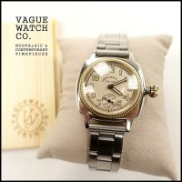 VAGUE WATCH CO.(ヴァーグウォッチカンパニー)<br>COUSSIN EARLY STAINLESS BELT(クッションアーリーステンレスベルト)