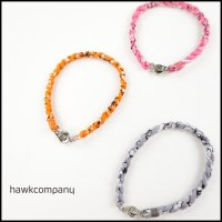 HAWK COMPANY(ホークカンパニー)<br>バンダナ柄ブレスレット