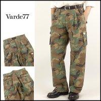 VARDE77(バルデ77)<br>STREET&FIELD TROOPS PANTS(2タックミリタリーパンツ)