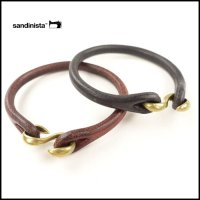 SANDINISTA(サンディニスタ)<br>S Hook Leayher Bracelet(レザーブレスレット)