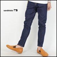 SANDINISTA(サンディニスタ)<br>B.C.Stretch Denim Pants -Tapered(テーパードデニムパンツ)