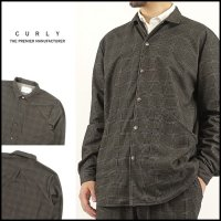CURLY(カーリー)<br>CRUST CH SHIRCKET(クラストチェックシャツジャケット)