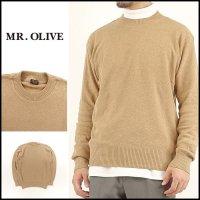 MR.OLIVE(ミスターオリーブ)<br>CREW NECK SWEATER(クルーネックセーター)