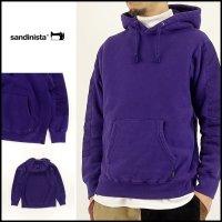SANDINISTA(サンディニスタ)<br>Overdyed MIllitary Hooded Sweatshirty(ミリタリーフードスウェット)