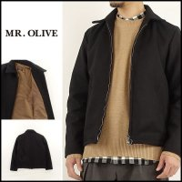 MR.OLIVE(ミスターオリーブ)<br>RING ZIP BLOUSON(リングジップブルゾン)