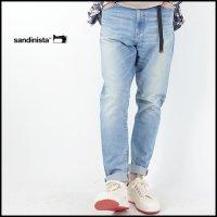 SANDINISTA(サンディニスタ)<br>B.C.Stretch Damage Denim Pants -Tapered(テーパードダメージデニムパンツ)