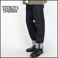 YSTRDY'S TMRRW(イエスタデイズトゥモロー)<br>13oz DENIM MEADOW PANTS WASHED(デニムパンツウオッシュ)