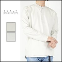 CURLY(カーリー)<br>CLOUDY 3B LS HENLY(ヘンリーネックカットソー)