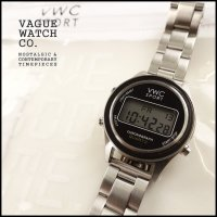VAGUE WATCH CO.(ヴァーグウォッチカンパニー)<br>DG2000 STAINLESS(デジタルウォッチステンレスベルト)