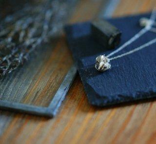 白詰草のネックレス-clover/trifolium repens necklace (silver925・シルバー)