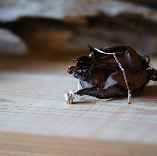 木蓮 もくれん/マグノリア のネックレス -mokuren/magnolia  liliflora necklace-(silver925・シルバー)