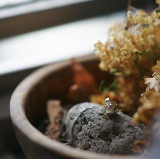 木蓮 もくれん/マグノリア のブレスレット -mokuren/magnolia  liliflora bracelet-(silver925・シルバー)