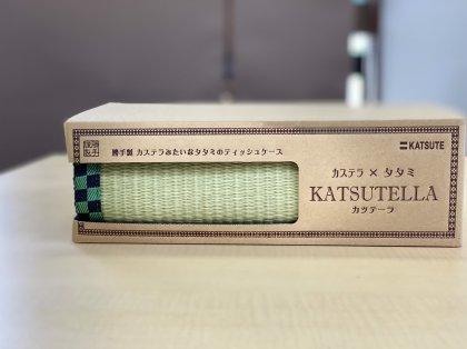 「アニメ柄」「カツテーラ」ティッシュケース
