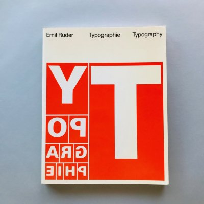 typographie typography<br>エミール・ルーダー<br>Emil Ruder