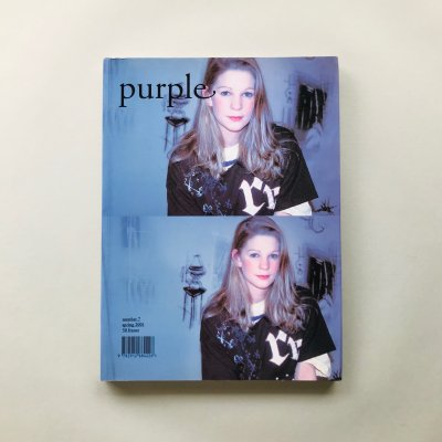 Purple Fashion Number 7<br>Spring 2001 /<br>オリヴィエ・ザーム, エレン・フライス<br>Olivier Zahm, Elein Fleiss