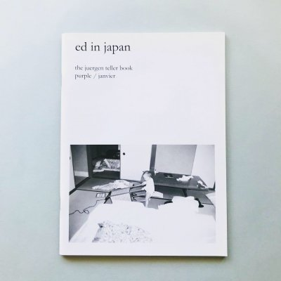 ユルゲン・テラー写真集 ed in japan the juergen teller Purple Book