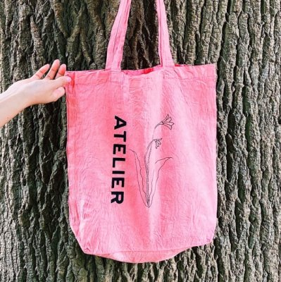 ATELIER TOTE<br>サーモンピンク