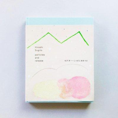 杉戸洋 こっぱとあまつぶ<br>particles and release<br>Hiroshi Sugito