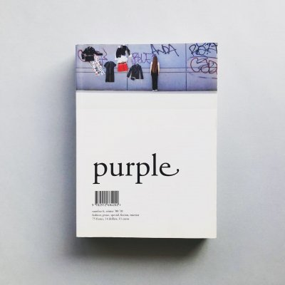 purple NUMBER 6 WINTER '00 '01<br>Mark Borthwick、鈴木親、Henry Roy