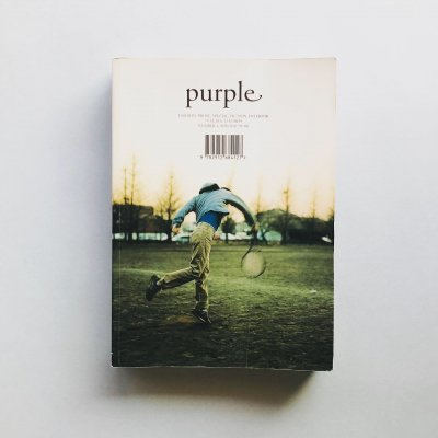 purple NUMBER 4 WINTER '99 '00<br>Mark Borthwick、ホンマタカシ、Juergen Teller