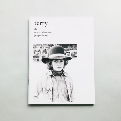 terry the terry richardson<br>purple book<br>テリー・リチャードソン