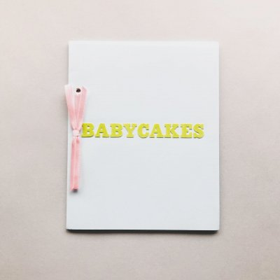 BABY CAKES<br>ホンマタカシ<br>Takashi Homma