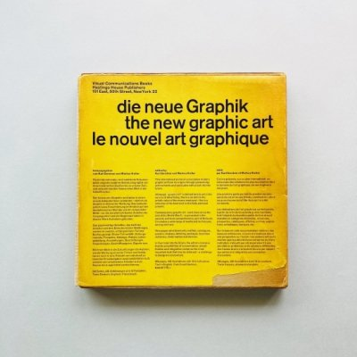 Die Neue Graphik<br>The New Graphic Art<br>Le Nouvel Art Graphique